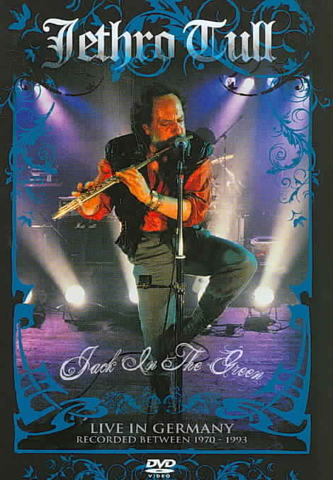 JACK IN THE GREEN- LIVE IN GERMANY BY JETHRO TULL (DVD)